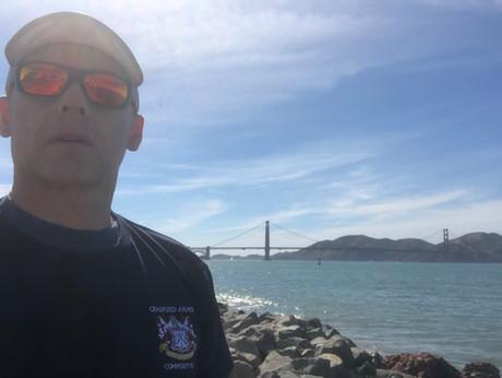 Gaz at the Golden Gate Bridge