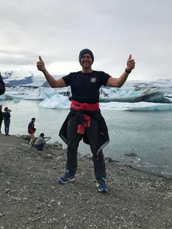 Phil in Iceland