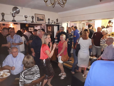 Dancing(!) at The Craufurd Arms