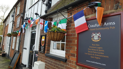 The Six Nations at The Craufurd Arms