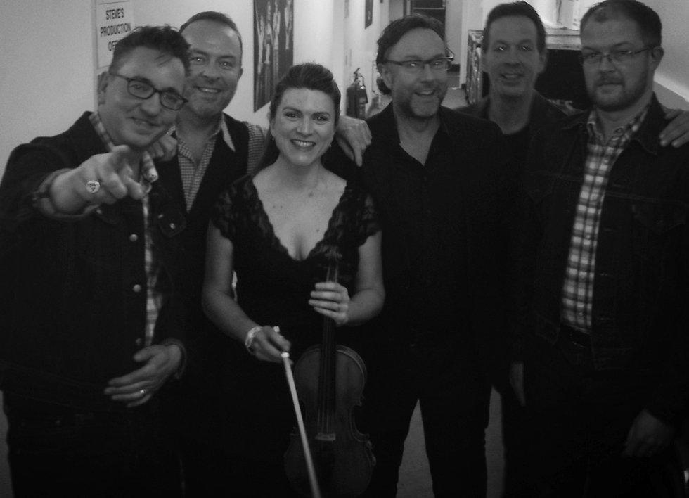 Richard Hawley with Charlotte Beresford, Enigma String Quartet UK
