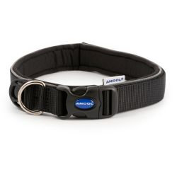 Ancol Extreme Shock Absorber Collar Black, SML