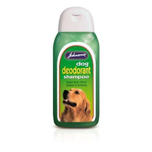 Johnson's Dog Deodorant Shampoo, 125ML