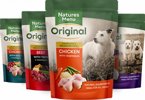 Natures Menu Multipack Complete Dog Pouches, 8 x 300G