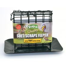 Supa Suet & Scrap Feeder & Tray, SGL