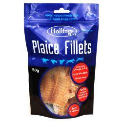 Hollings Plaice Fillets, 50G