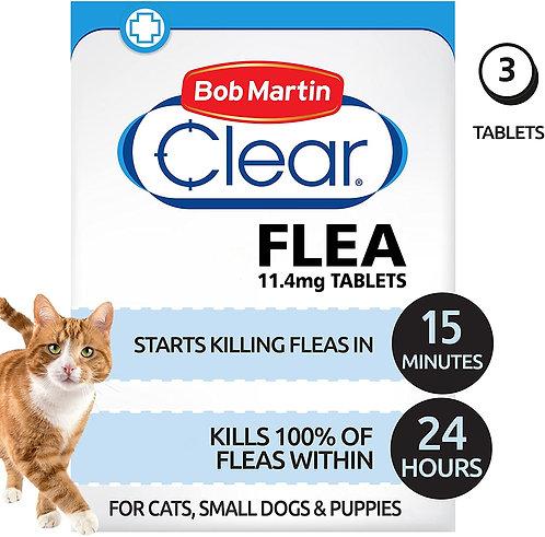 Bob Martin Flea Tablets Cat & Small Dog, 3TABS
