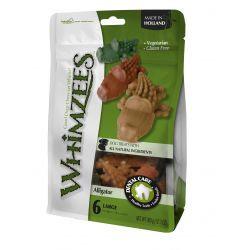 Whimzees Alligator Pre Pack LGE