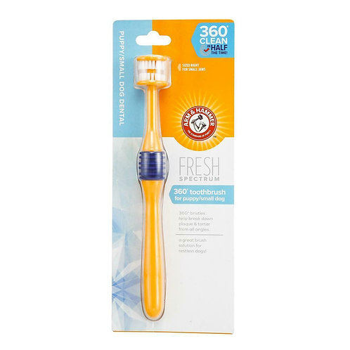 Arm & Hammer Fresh 360° Toothbrush Puppy/Small, SGL
