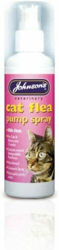 Johnson's Cat Flea Spray Pump, 100ML