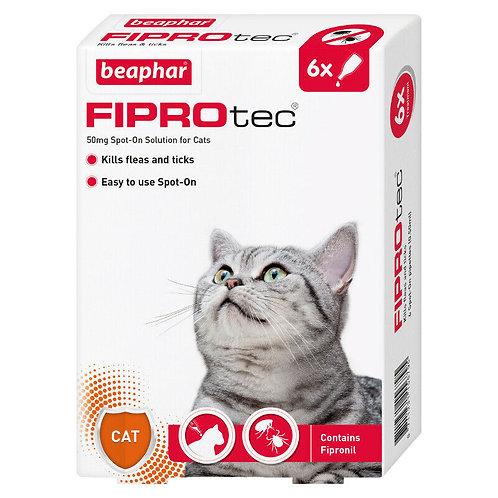 Beaphar FIPROtec Spot-On for Cats 6 pipette, 6TMNT