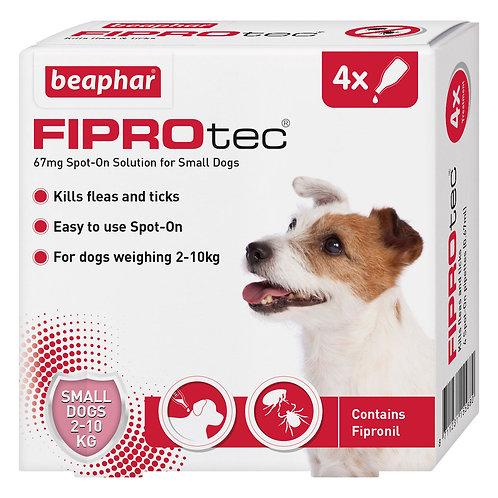 Beaphar FIPROtec Spot On Small Dog 4 pipette, 4TMNT