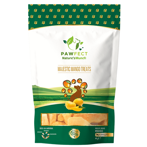 Pawfect Nature's Munch Mango Treats