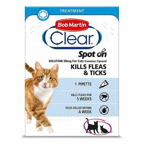 Bob Martin FleaClear Spot On for Cats, 1TMNT