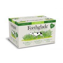 Forthglade Complete Meal Grain Free Adult Multicase 12 Pack (Turkey, Lamb, Duck)