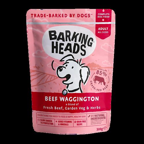 Barking Heads Beef Waggington, 10 x 300G