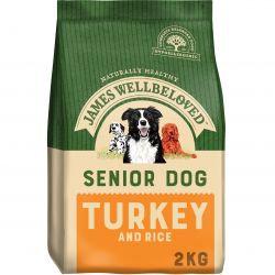 James Wellbeloved Senior Dog Turkey & Rice, 2KG