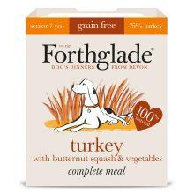Forthglade Complete Grain Free Senior Turkey & Veg, 18 x 395G