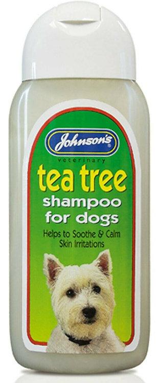 Johnson's Tea Tree Shampoo, 200ML
