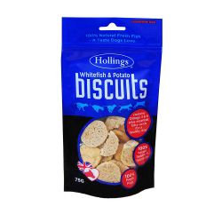 Hollings Fish & Potato Biscuits, 75G