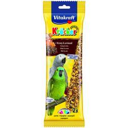Vitakraft African Parrot Honey Stick 180g, 2PK