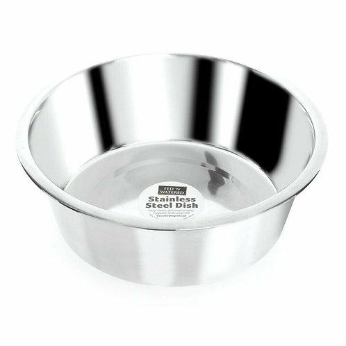 Fed 'N' Watered Stainless Steel Standard Feeding Bowl, 21CM