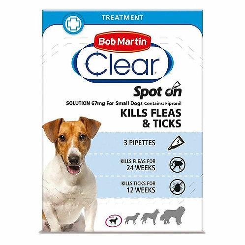 Bob Martin FleaClear Spot On for Small Dogs, 3TMNT