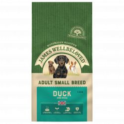 JAMES WELLBELOVED Duck & Rice Adult Small Breed 1.5kg