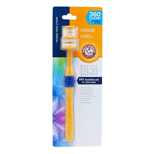 Arm & Hammer Fresh 360° Toothbrush for Dogs, SGL
