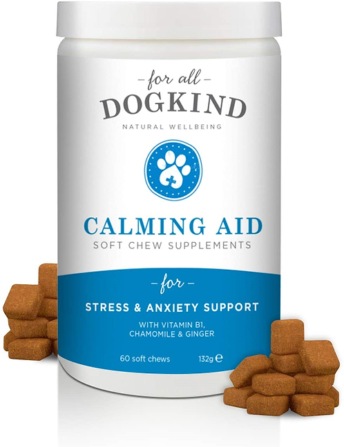 For All Dog Kind Calming Aid Soft Chew, 60'S