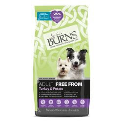 Burns Adult Free From Turkey and Potato, 12KG