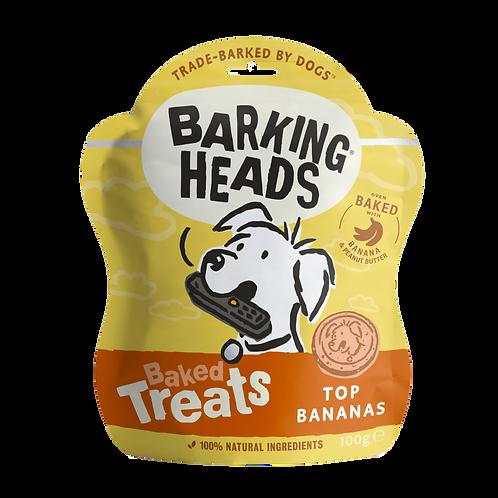 Barking Heads Top Banana Baked Treats, 100G