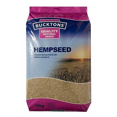Bucktons Hempseed, 15KG
