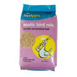 Bestpets Cockatiel & Parakeet Exotic Bird Mix, 20KG