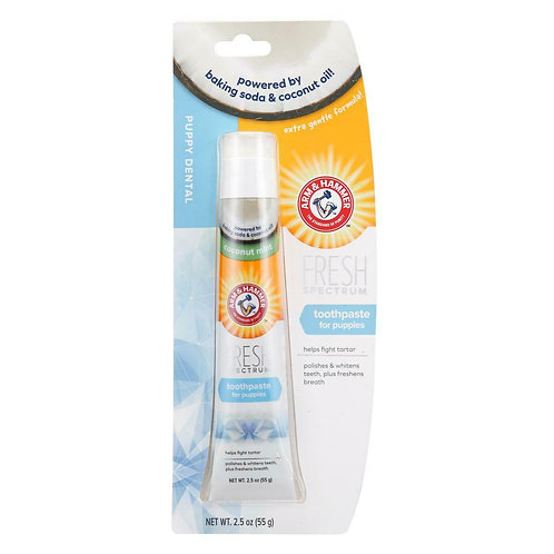 Arm & Hammer Fresh Coconut Mint Toothpaste Puppy, 57G