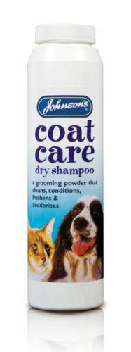 Johnson's Coat Care Dry Shampoo, 85G