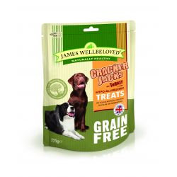 James Wellbeloved Crackerjack Grain Free Turkey & Vegetable, 225G