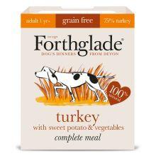 Forthglade Complete Grain free Adult Turkey & Veg, 18 x 395G
