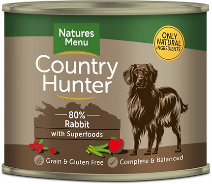 Country Hunter 80% Rabbit with Superfoods, 6 x 600G