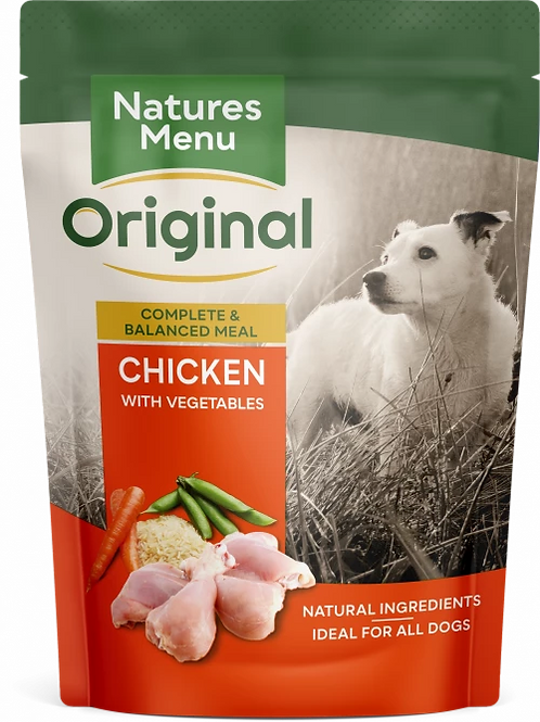 Natures Menu Original Chicken with Vegetables, 8 x 300G