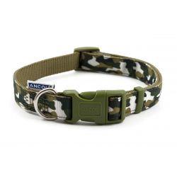 Ancol Collar Combat Green, 30-50CM