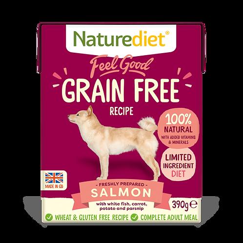 Naturediet Feel Good Grain Free Salmon, 18 x 390G
