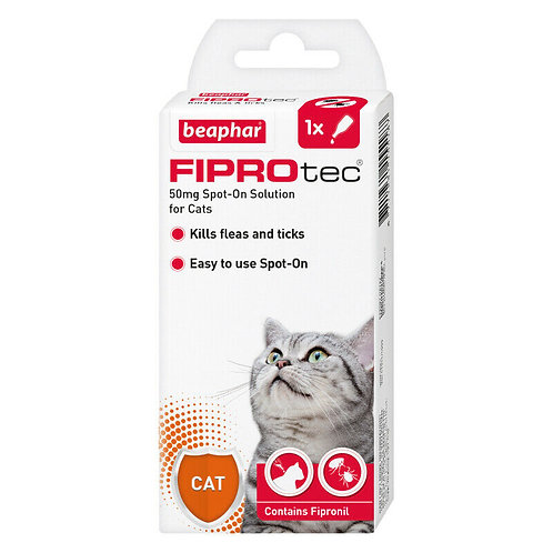 Beaphar FIPROtec Spot-On for Cats 1 pipette, 1TMNT