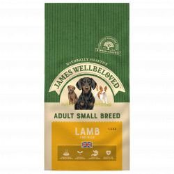 JAMES WELLBELOVED Lamb & Rice Adult Small Breed 1.5kg