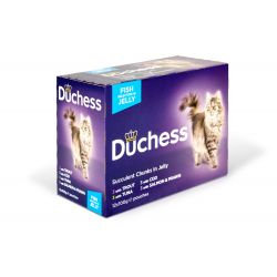 Duchess Pouch Fish Jelly, 12 x 100G