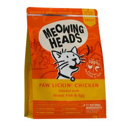Meowing Heads Paw Lickin Chicken, 4KG