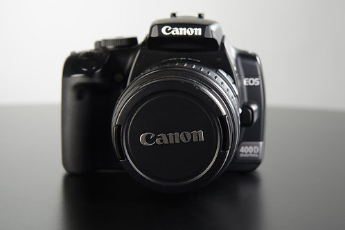 Canon EOS 400D + EF-S 18-55mm