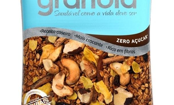 Granola Zero Açúcar WS - Pacote 500g