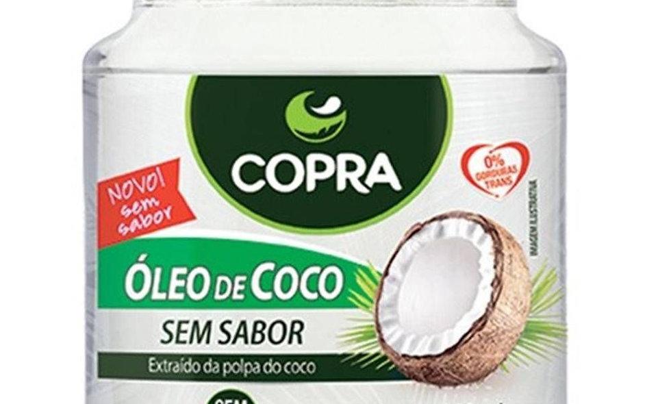 Óleo de coco sem sabor  200 ml