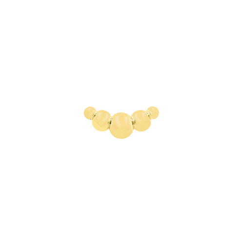 Gold Croissant - Yellow Gold
